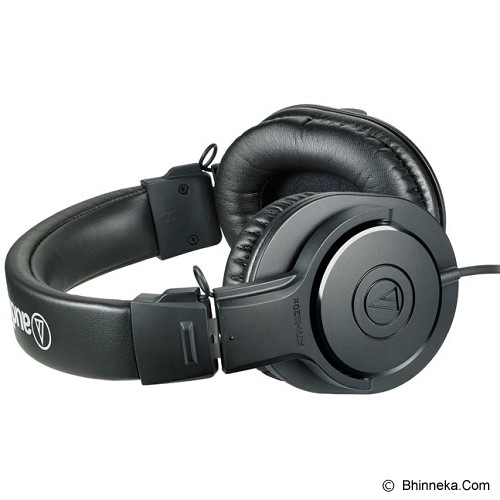 AUDIO-TECHNICA Professional Headphones [ATH M20x] - Black - Headphone Full Size
